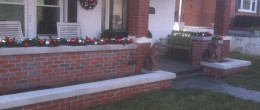 New Brick Porch